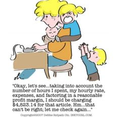 A bit of Internet Marketing humor for all the content creators and copywriters out there like me... Thanks, Debbie Ridpath Ohi at Inkygirl.com.