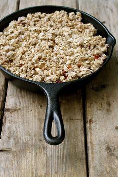 Recipe: Summer Fruit Crisp, Vegan & Gluten-Free.