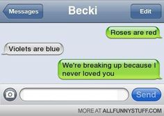 29 Best Break Up texts images in 2013 | Funny sms, Funny