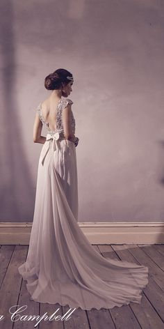 Anna Campbell FOREVER ENTWINED Wedding Dresses16 / http://www.deerpearlflowers.com/forever-entwined-wedding-dresses-from-anna-campbell/