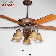 Quạt trần đèn trang trí cao cấp Mountain Air QAZ-3013