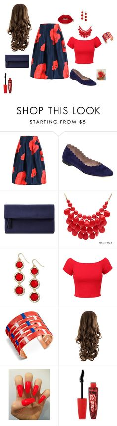 """Untitled #3"" by sara-tadic-1 ❤ liked on Polyvore featuring Chloé, John Lewis, Alexa Starr, Venus, Tory Burch and Rimmel"
