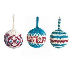 Ravelry: Kerstballen breien pattern by huizeStinesen