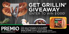 Enter the grillin giveaway!  #win #sweepstakes http://woobox.com/odsw62/j249g6