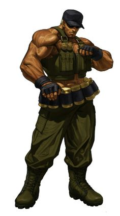Born in the USA - Clark Still, King of Fighters