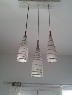 Natural Materials, Light Fixtures, Recycling, Ceiling Lights, Lighting, Pendant, Wood, Home Decor, Woodwind Instrument