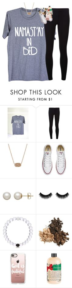 """""""christmas haul in description"""" by classynsouthern ❤ liked on Polyvore featuring James Perse, Kendra Scott, Converse, Honora, Casetify, philosophy and Maybelline"""