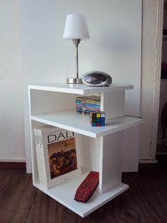 Smart Furniture, Home Furniture, Furniture Design, Handmade Wood Furniture, Recycled Furniture, Pallette Furniture, Bedroom With Sitting Area, Wood Nightstand, Living Room Tv