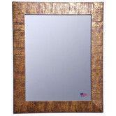 Found it at Wayfair - Rayne Mirrors Ava Sunset Bronze Wall Mirror, 45 x 39, $295
