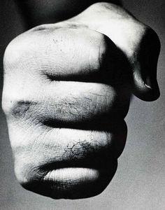 Richard Avedon - Joe Louis, Fighter ,1963