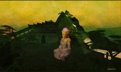 Best in lightbox or full screen Lightbox, Second Life, Landscapes, China, Fantasy, Painting, Art, Paisajes, Art Background