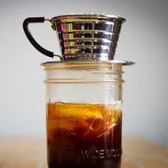 New Orleans-style Cold Brew Coffee Recipe