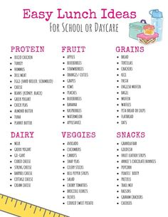 12 On the Go Toddler Lunch Ideas for Daycare or Preschool · Urban Mom Tales