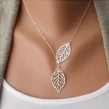 Free shipping ultra low discount Hot Big silver Leaf short alloy necklace chain