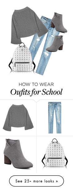 """""""Casual School Wear"""" by atlas7621 on Polyvore featuring True Religion and MCM"""