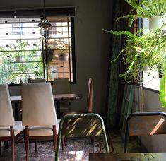 9 quán cafe nền gạch hoa cực nghệ ở Sài Gòn mà bạn nên ghé qua... chụp hình - Ảnh 31. Parrot Flying, Outdoor Cafe, Coffee Shop Design, Conference Room, Furniture, Home Decor, Blue Prints, Decoration Home, Room Decor