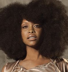 erykah badu and most importantly, her AFRO.
