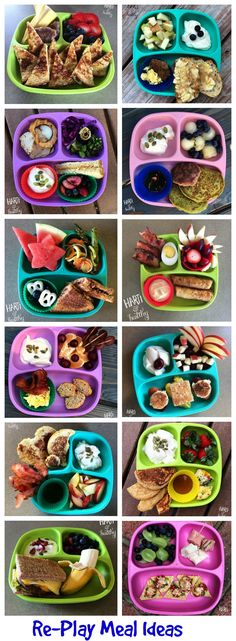 We love sharing our Re-Play moms recipes and meal ideas. Here are some great br… We love sharing our Re-Play moms recipes and meal ideas. Here are some great breakfast ideas that will please any slippy head. Great Breakfast Ideas, Breakfast Ideas For Toddlers, Healthy Toddler Breakfast, Healthy Toddler Meals, Baby Food Recipes, Snack Recipes, Toddler Recipes, Breakfast Recipes, Healthy Recipes