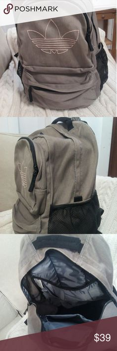 Adidas backpack Super roomy..great condition ..super cute  Bundle and save . All my prices negotiable Adidas Bags Backpacks