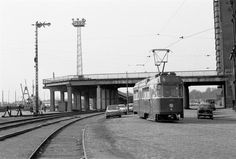 Lönnrotinkadun silta 1971. Kuva: vaunut.org