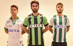 América MG 2017 Lupo Home, Away and Third Kits