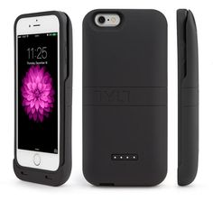 OEM Tylt Rechargeable iPhone 6 Sliding Power Case 3200 maH Retail Package Black #TYLT