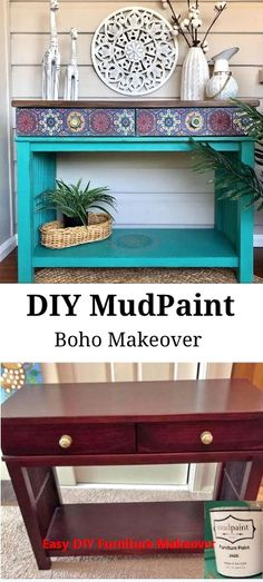 Creative Furniture DIY Small Spaces - - Pallet Furniture Living Room Color Inspiration - Furniture Makeover DIY Before And After Awesome Cheap Furniture Makeover, Diy Furniture Renovation, Diy Furniture Projects, Repurposed Furniture, Vintage Furniture, Painted Furniture, Rustic Furniture, Modern Furniture, Green Furniture