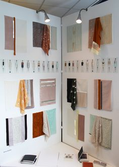 degree show >> - Anna Duthie Textiles I like how tactile this is Exhibition Plan, Exhibition Display, Exhibition Space, Textiles Sketchbook, Fashion Sketchbook, Image Mode, Wal Art, Fashion Displays, Fashion Design Portfolio