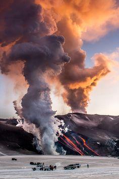Eyjafjalljokull, Iceland