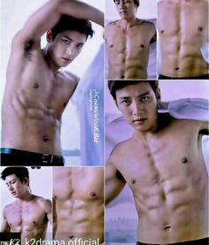 "Ji Chang Wook, ""The K2"" He can put that shirts on all day..."