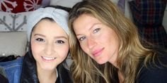 Not every 15-year-old aspiring makeup artist gets a personal visit from Gisele Bundchen, but Karina Xavier got just that this week. The Brazilian teen, who's currently battling bone cancer, was surprised by the supermodel on Thursday at her house, where the two swapped makeup tips and ate pão de queijo (naturally).