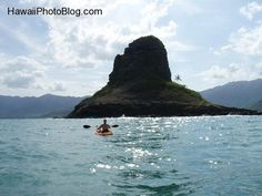 Chinaman's Hat ~ you can walk to the island when the tide is low...