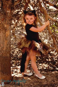 Black Kitty Cat Tulle Tutu Costume for Toddler by sweethearttutus, $98.00