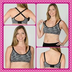 The Momzelle Seamless Nursing Bra. So cute, comfortable and affordable! #seamless #nursingbra #breastfeeding