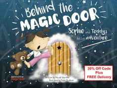 Personalised Children's Book Behind the by MagicDoorAdventure