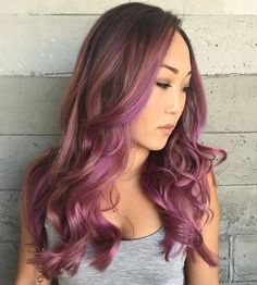 Gorgeous Purple Highlights for All Hair Colors – Best Hair Color Trends 2016/2017 – Top Hair Color Ideas for You