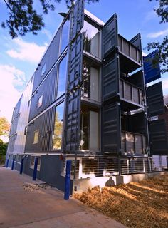 First shipping container apartments in Washington DC