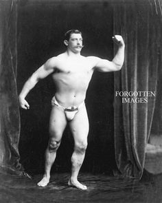 22$ 1910s Mr. Manly Man 8x10 chem reprint: http://www.ebay.ca/itm/STRONGMAN-DISPLAYING-HIS-TALENTS-1910s-PHOTOGRAPH-/360629838292?pt=Art_Photo_Images=item53f736a1d4&_uhb=1#ht_2143wt_742