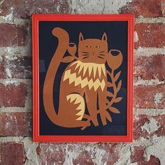 Elsa Mora Cat Art
