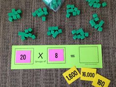Math Coach's Corner - Extending Multiplication to Larger Numbers...