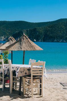 Beach Taverna in Greece