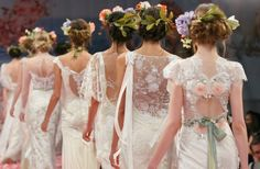 An Earthly Paradise - Spring 2013 Wedding Dresses by Kelly , via Behance