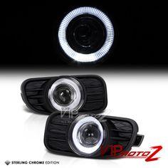 Set of 2 Clear Lens Fog Light For 97-01 Jeep Cherokee LH /& RH w// Bulbs