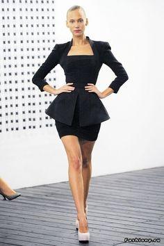 МК платье от Виктории Бэкхем / шьем платье как у виктории бекхем