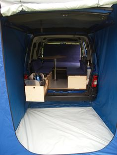 B - boot jump and boot tent, Amdro Alternative Camper Conversions Car Camper, Mini Camper, Micro Campers, Rv Bus, Volkswagen Caddy Life, Motorhome, Van Tent, Berlingo Camper, Peugeot Partner