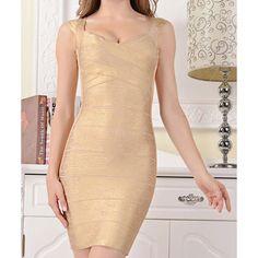 New Fashion Gold Foil Print Bandage Dress Celebrity Style Casual Dresses For Women, Dresses For Sale, Dresses Online, Dress Sale, Celebrity Dresses, Celebrity Style, Online Dress Shopping, Gold Fashion, Buy Dress