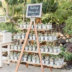 We'll never get sick of succulents... ever... So this super cute mini succulent   wedding favor display just gets all the     in our book. Photo by @figlewiczphotography and @m_gardens. #wedding #weddings #weddingplanning #weddingideas #weddingdetails #weddingphotos #weddingfavors #diywedding #diydetails #weddingflowers #weddingplants #succulent #succulents #succulentlove #greenwedding #weddingguests #isaidyes