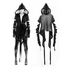 katisque: LOGAN NEITZEL capsule collection (via incandescentdreaming) Dark Fashion, Gothic Fashion, Mode Outfits, Fashion Outfits, Estilo Dark, Dystopian Fashion, Cyberpunk Fashion, Post Apocalyptic Fashion, Cosplay