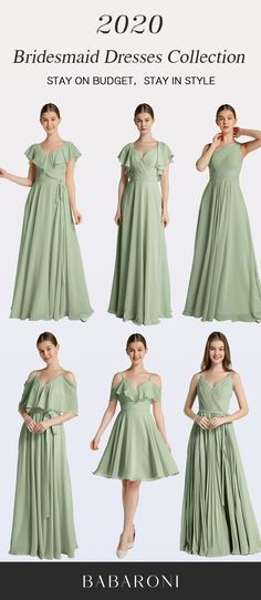 Sku: Hundreds Available Price: Under $99.00 Color: Dusty Sage Size: All Sizes Available These dresses are made of chiffon and in great quality, which make you look elegant. #babaroni#dresses#babaroni #bigsale #2020wedding #weddinginspiration #wedding #wedding #weddings #weddings #weddingdress #weddingdresses #bridalgown #bridesmaid #bridesmaiddress #bridesmaidgown #bridesmaidgowns#bridesmaiddrsses #chiffondress #longdress #dreamdress #longgown#dustysagecolor Bridesmaid Dresses, Wedding Dresses, Brides Maid Gown, Sage Color, Dream Dress, Chiffon Dress, Dress Collection, Costume, Bridal Gowns