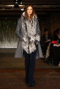 Altuzarra coat.  runway style